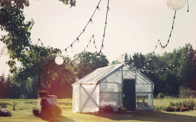 Lempučių nuoma vestuvėms daržinėje