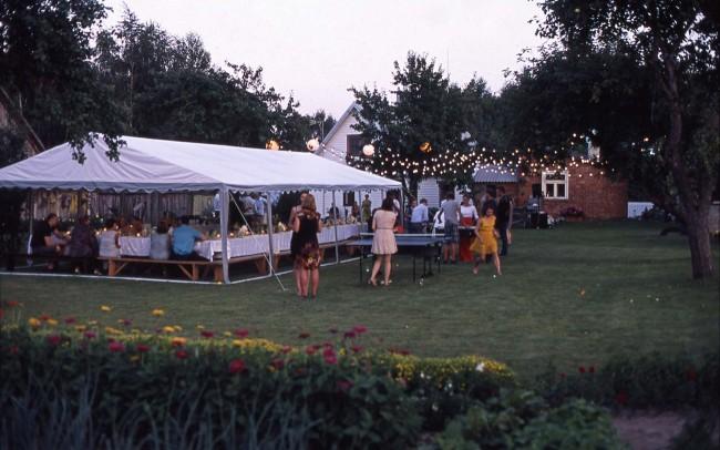 Lempuciu nuoma vestuvėms lauke